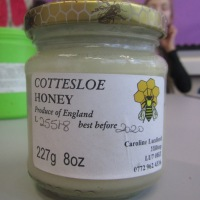 Local bee keeper Caroline Luxford visits to talk about her award winning honey bees!